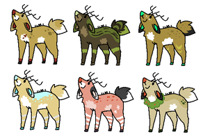 Deer Adopts by Haaaze