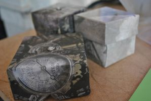 handmade steam punk style boxes by cubisticnebular