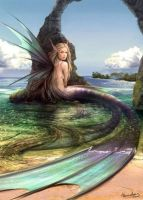 fairy mermaid by Nanami848