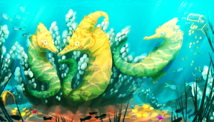 Golden Reef by Urnam-BOT