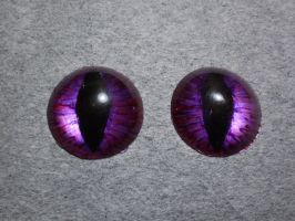 Hand painted resin eyes by shadowcat-666