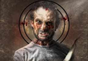 Psycho Circus 2 The Knife Thrower by muirart