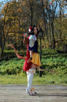 I shall not fear with my seven arrows by FoxTailCosplay