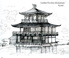 Golden Pavilion by Redilion