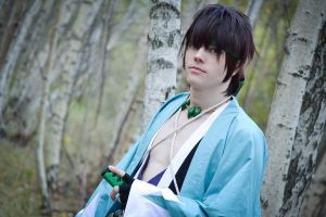 Shinpachi Nagakura - In the woods by Hexalot