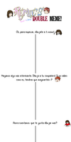 Doubled Meme subtitulado. by Paint-Bell