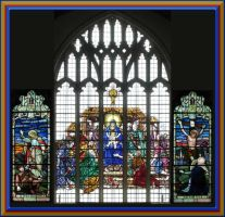 Stained Windows In St Mary's by Aswang301
