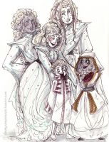 Wyndr family costumes - Inktober 2015 #2 by thetickinghearts