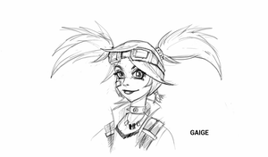 Gaige Sketch by BioticKorgi