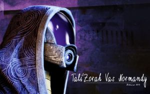 Tali'Zorah Vas Normandy by Belanna42