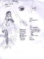 Corpse Bride Costume Sketch by cherrysin