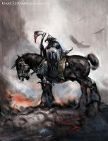 Frank Frazetta master copy The Death Dealer by IsaacJLitman