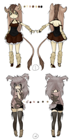 CLOSED - Gijinka Adoptables 1 by OchiKiMochi
