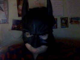 My new Batman mask :3 by GothicTaco198