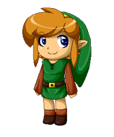 Link Pixel Doll by Ppeacht