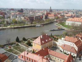 Wroclaw's panorama by Najelen