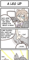 4koma: A leg up by TheNekoStar