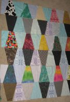wip lava lamp quilt by peaceocake