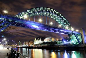 Tyne Bridge by 1-Professor-Chaos-1