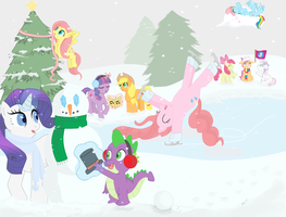 MLP: FiM -- Christmas Vacation by TeenBulma