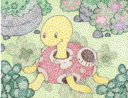 Dot Collection: VI Shuckle by Macuarrorro