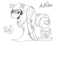 The twin spirits of Fall/Autumn by Frigg-Fluff