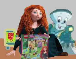 Merida's first lego set by hot293wildcat