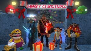 Christmas Greetings by OudieTH