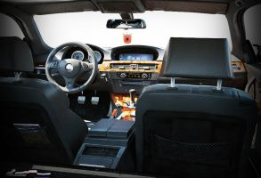 BMW m3 car Interior by Artsoni3D