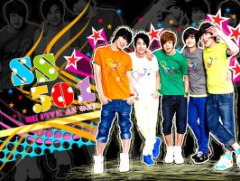 COOL SS501 WALL by zareos