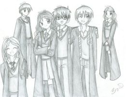 Dumbledore's Army sketch by brigette