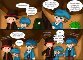SPOILER! Professor Layton Comic: Resemblance by purplemagechan
