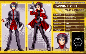 CR CHARSHEET: Yassin f riffle [REVISION] by sowelunee