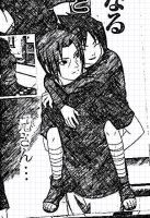 Itachi and Sasuke Sketch by Neon-Cheshire-Cat