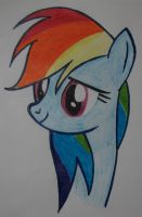 Rainbow Dash Has a Soft Side Too by likethewind9