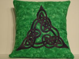Celtic Pillow by KnottyCovers