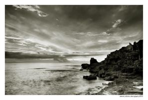 almost night at Cott by stevenjo