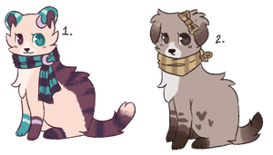 | Scarf . and . Bandana . Adopts | by BearBerries
