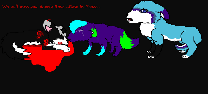 Rest In Peace Rave by GeenaRulzMyPaws