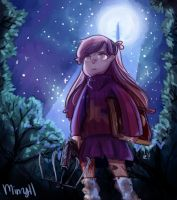Mabel-pines-demon-slayer by Minryll