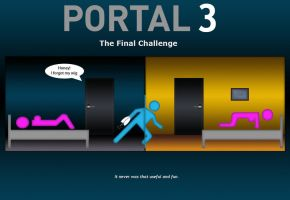 Portal 3 by Gigatless