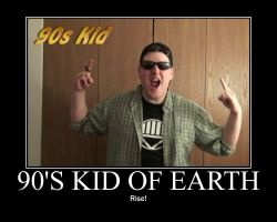 Motivation - 90' Kid of Earth by Songue