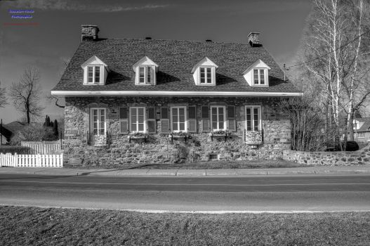 Old Lachine V BW (HDR) by digswolf