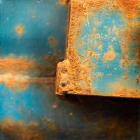 Object of Blue and Ochre by Poromaa
