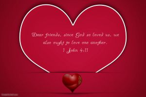Love one another, just as God loves us. by Angelgirl10