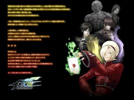 Wallpaper: KOF XIII Edited by kaztelli