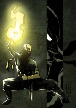 another iron fist boy by KimJacinto