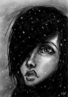 first snow by Agapka