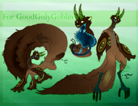 Commission: Goodgollygoblin by MrGremble