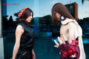 Yoh and Hao Asakura - Shaman King by Ryogak